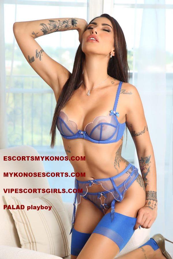 Playboy Model Mykonos Escort